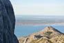 Blick vom Nationalpark Paklenica