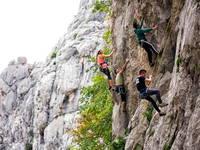 Internat. Treffen der Kletter, Paklenica