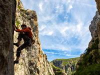 Klettern im Nationalpark Paklenica