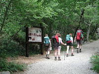 Lehrpfad, Nationalpark Paklenica