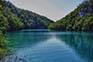 Nationalpark Plitvice - Blick über See