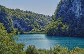 Nationalpark Plitvice - See, Wandersteg, Höhle