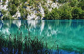 Nationalpark Plitvice - Seeufer
