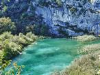 Nationalpark Plitvice - See und Fels