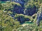 Nationalpark Plitvice - Wasserfälle unterhalb von Veliki Slap