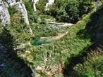 Nationalpark Plitvice - Unterhalb Veliki Slap