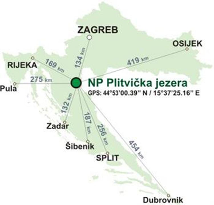 Nationalpark Plitvicer Seen Karte.Nationalpark Plitvicer Seen Kroatien Reisefuhrer