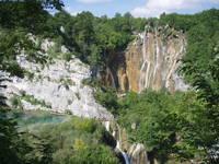 NP Plitvicer Seen, Veliki Slap Wasserfall