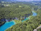 Plitvice - obere und untere Seen