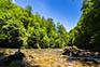 Fluss Kupa, Nationalpark Risnjak