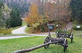 Eingang Nationalpark Risnjak, Kroatien