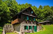 Haus im Nationalpark Risnjak, Kroatien