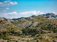 Geologie, Naturpark Biokovo