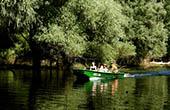 Bootsfahrt, Naturpark Kopacki rit, Kroatien