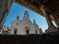 Kirche Hl. Cosmas und Damian, Lastovo, Kroatien