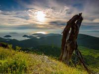 Wandern, westliche Inseln, Lastovo, Kroatien