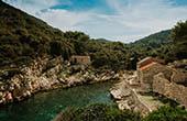 Bucht Zace, Lastovo, Kroatien