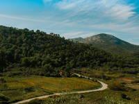 Fahrradtour, Lastovo, Kroatien