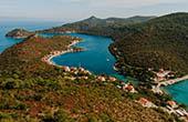 Meerenge Lastovo, Kroatien