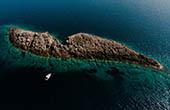 Inselchen, Lastovo, Kroatien