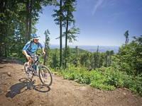 Radfahren, Naturpark Medvednica