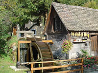 Wassermühle, Naturpark Medvednica