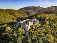 Burgruine Festung Ruzica, Naturpark Papuk
