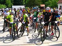 Mountainbikerennen, Papuk Naturpark