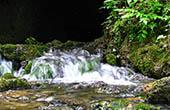 Kleiner Wasserfall, Bachlauf