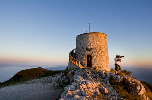 Naturpark Ucka - Aussicht Vojak
