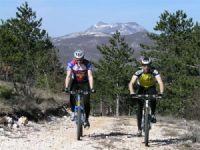 Naturpark Ucka - Mountainbike fahren