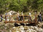 Naturpark Ucka - Wandergruppe bei Lovranska Draga