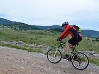Fahrradfahren im Naturpark Velebit