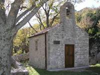 Kirche Brisnica, Naturpark Velebit