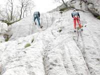 Klettern im Naturpark Velebit