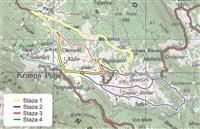 Mountainbike-Routen im Nordvelebit