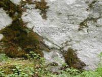 Pisani kamen, Velebit