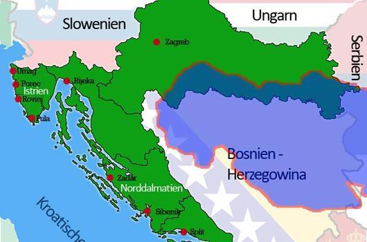 Balkan - Hochwasserkatastrophe 2014 - Serbien, Bosnien Herzegowina, Region Slawonien Kroatien