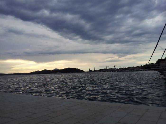 Schlechtes Wetter in Kroatien