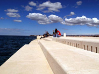 Das Ausflugsziel Zadar