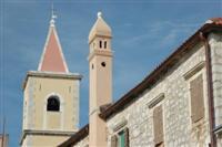 Kirchturm der Sv. Juraj Kirche