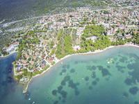 Strand des Hotels Miran, Pirovac