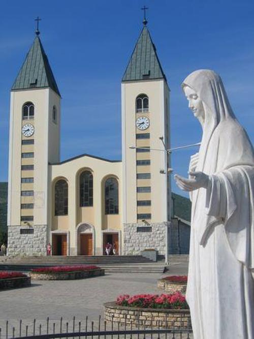 Medjugorje - der Wallfahrtsort in Bosnien-Herzegowina