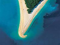 Zlatni rat Insel Brac
