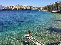 Insel Korcula, Dalmatien, Kroatien