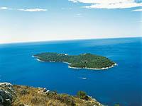 Insel Lokrum - Dalmatien, Kroatien