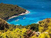 Blick auf die Insel Losinj