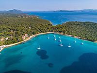Insel Ugljan, Dalmatien, Kroatien