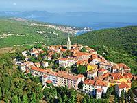 Labin in Kroatien