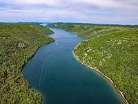 Limski Kanal- Istrien, Kroatien